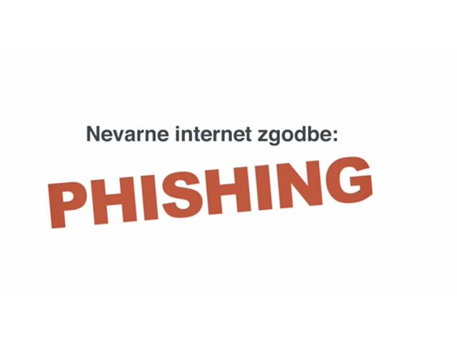 phishing prevara