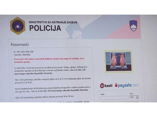 hekerski napadi v Sloveniji